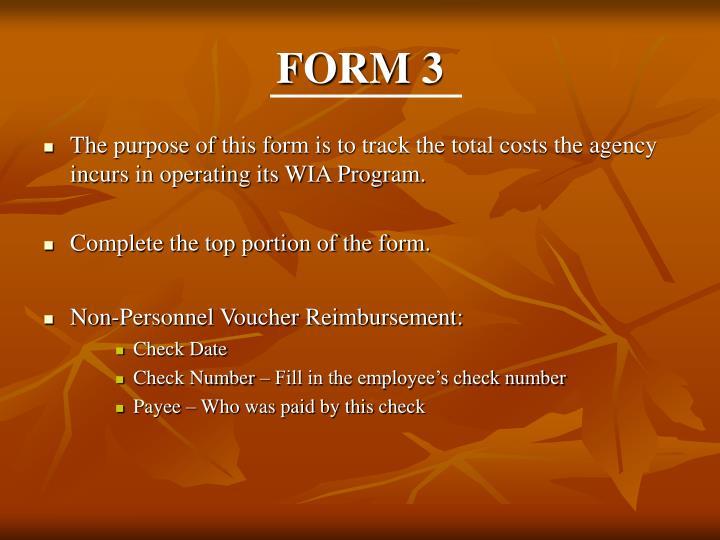 FORM 3