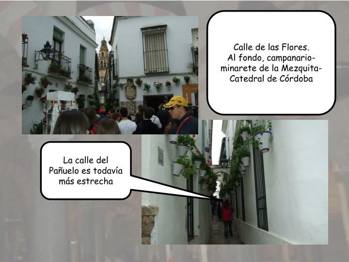 Calle de las Flores.