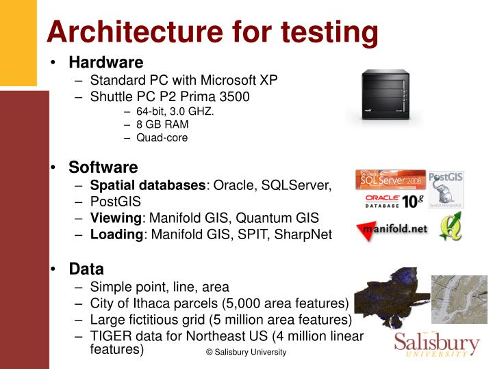 Architecture for testing