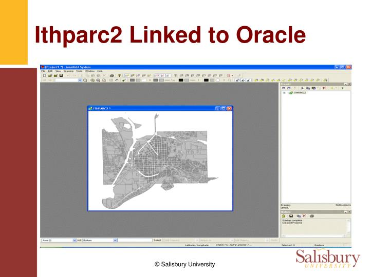 Ithparc2 Linked to Oracle
