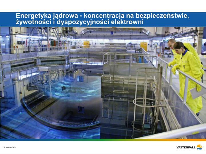 Energetyka jądrowa - koncentracja na bezpieczeństwie, żywotności i dyspozycyjności elektrowni