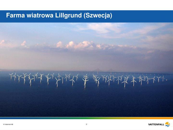 Farma wiatrowa Lillgrund (Szwecja)