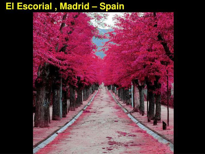 El Escorial , Madrid – Spain