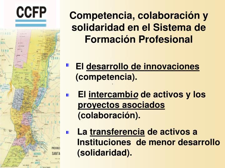 Competencia, colaboración y