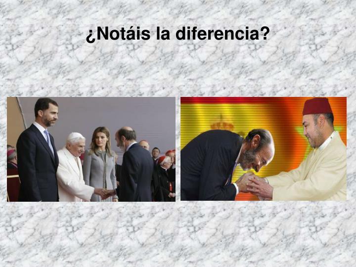 ¿Notáis la diferencia?