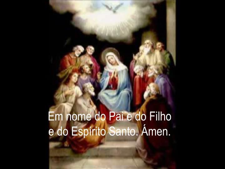 Em nome do Pai e do Filho