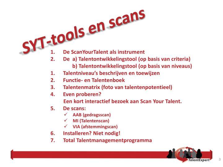 SYT-tools