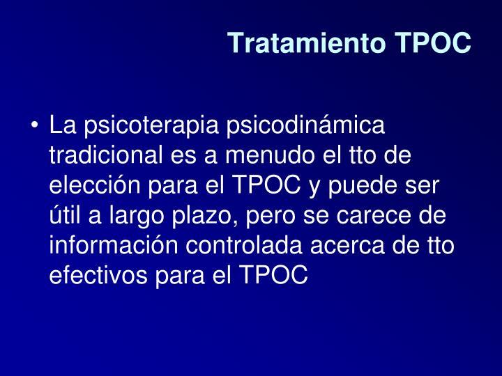 Tratamiento TPOC