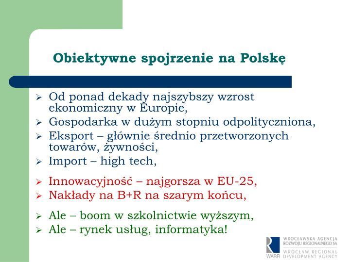 Obiektywne spojrzenie na Polskę