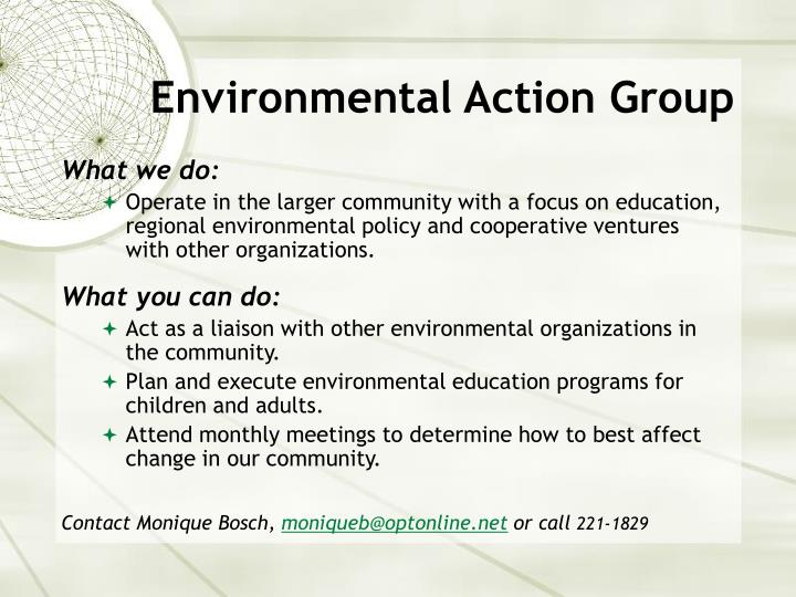 Environmental Action Group