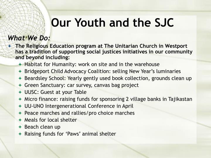 Our Youth and the SJC