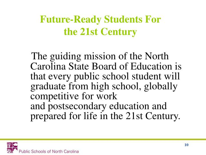 Future-Ready Students For