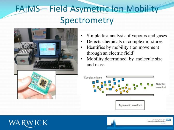 FAIMS – Field Asymetric Ion Mobility Spectrometry