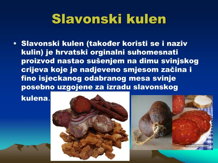 Slavonski kulen