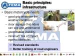 basic principles infrastructure
