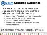 guardrail guidelines