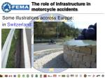 the role of infrastructure in motorcycle accidents5