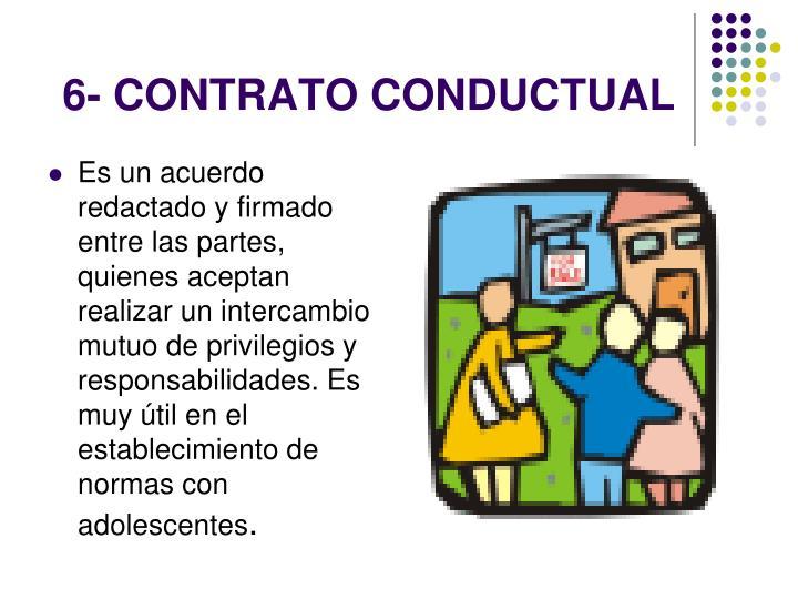 6- CONTRATO CONDUCTUAL