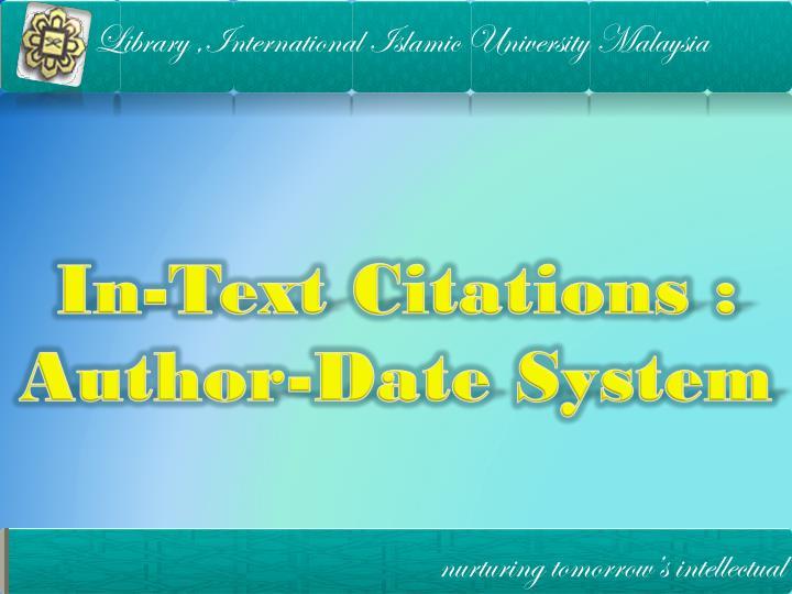 Library ,International Islamic University Malaysia