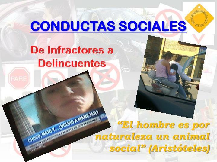 CONDUCTAS SOCIALES