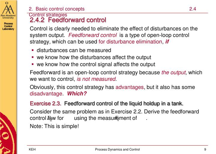 2.  Basic control concepts                                                                             2.4