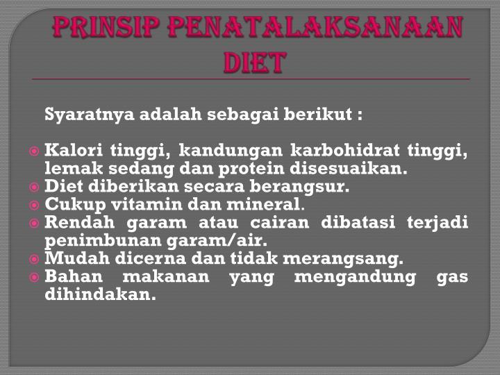 Diet untuk Penderita Hepatitis