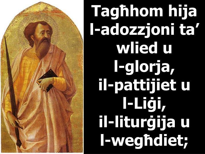 Tagħhom hija