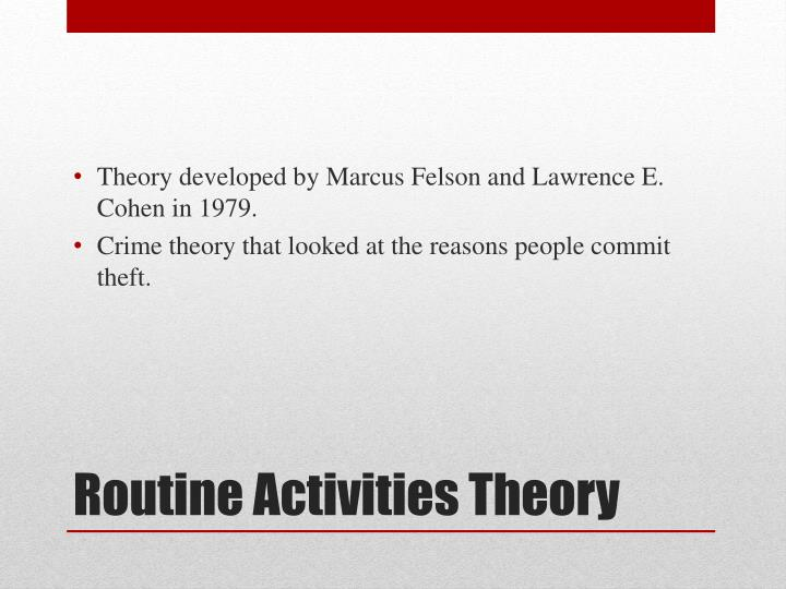 Theory developed by Marcus