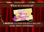 what is a musical