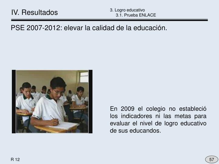 3. Logro educativo