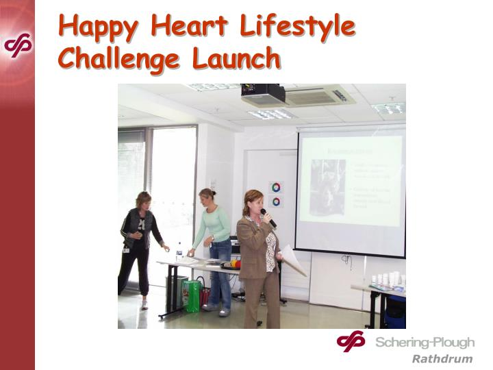 Happy Heart Lifestyle Challenge Launch