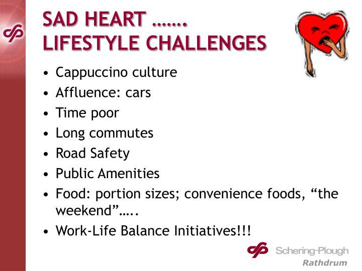 SAD HEART …….
