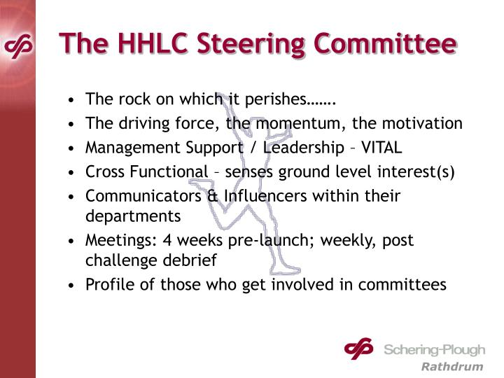The HHLC Steering Committee