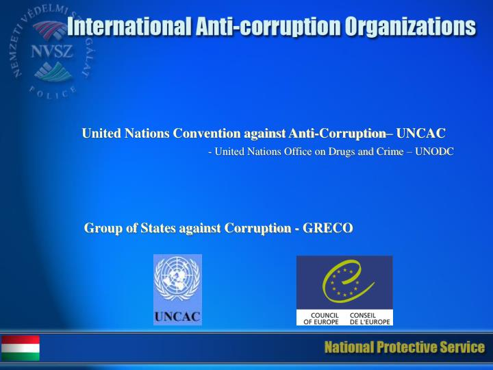 United Nations Convention against Anti-Corruption
