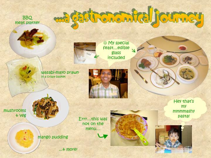 ...a gastronomical journey