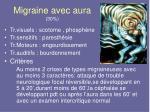 migraine avec aura 30