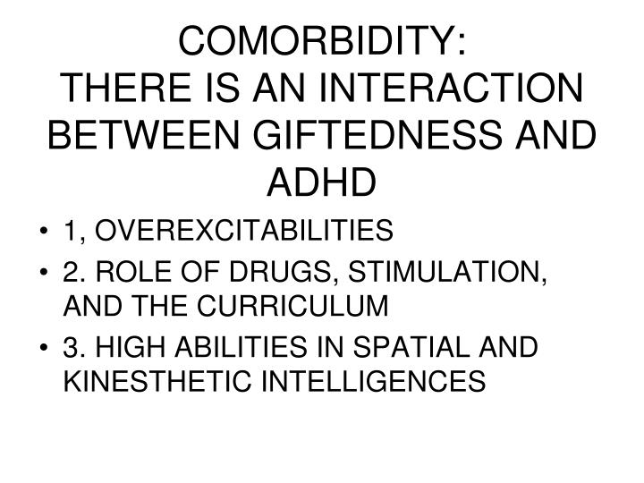 COMORBIDITY: