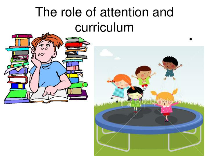 The role of attention and curriculum
