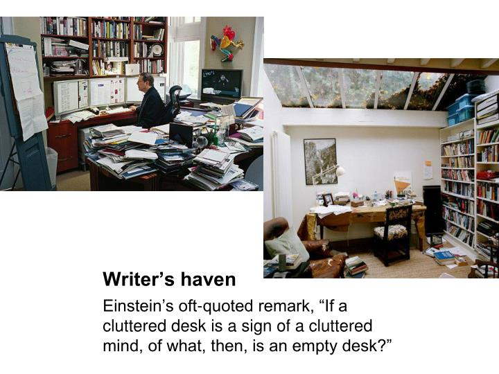 Writer's haven