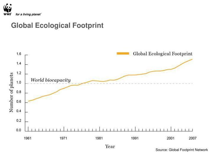 Global Ecological Footprint