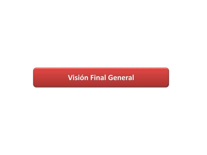 Visión Final General