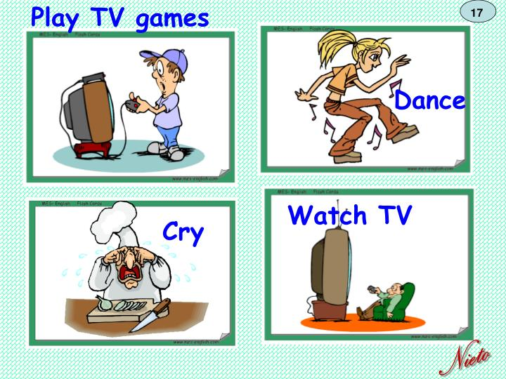 Play TV games