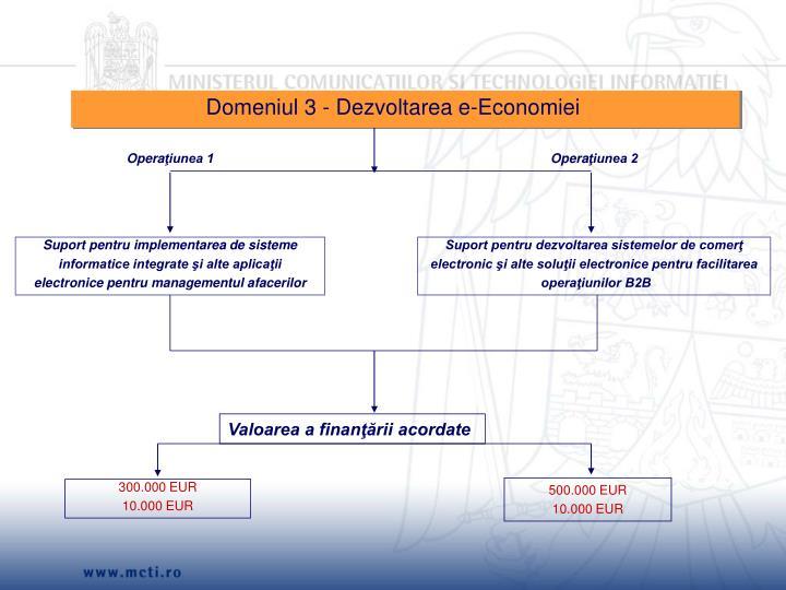 Domeniul 3 -