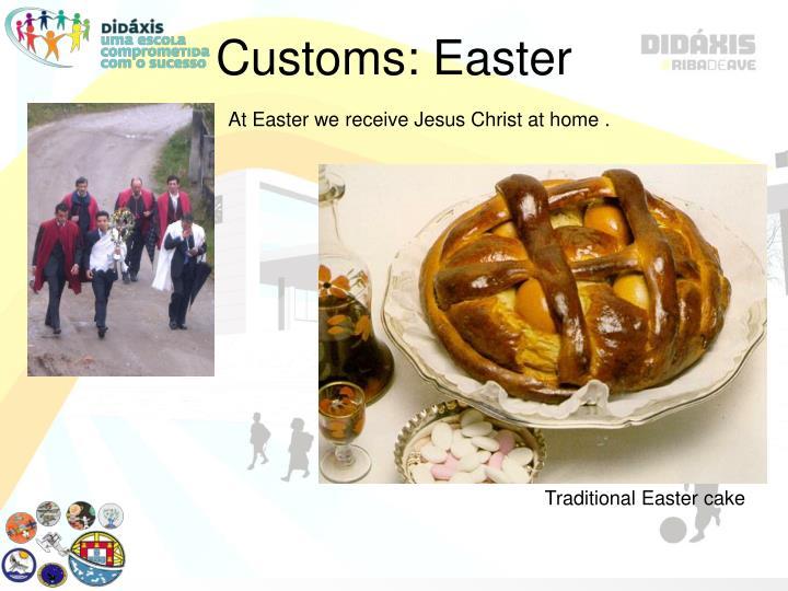 Customs: Easter