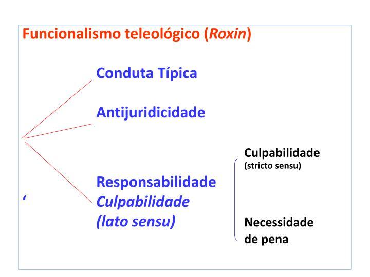 Funcionalismo teleológico (