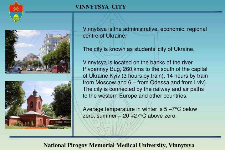 VINNYTSYA  CITY