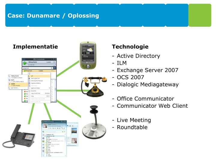 Case: Dunamare / Oplossing