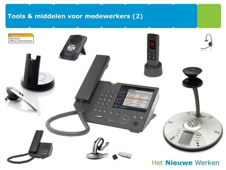 Tools & middelen voor medewerkers (2)