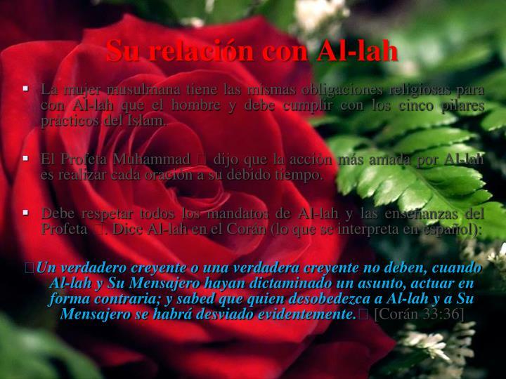 Su relación con Al-
