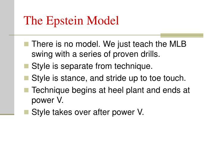 The Epstein Model
